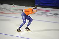 SPEEDSKATING: CALGARY: Olympic Oval, 30-11-2017, ISU World Cup training, Bob de Vries (NED), ©photo Martin de Jong