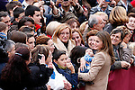 Princess Letizia of Spain visits Caspe village on November 7, 2012 in Alcaniz, Teruel, Spain.(ALTERPHOTOS/Harry S. Stamper)