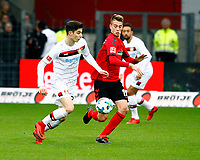 Kai HAVERTZ, Bayer Leverkusen - Janik HABERER, SCF,   Fussball, 1. Bundesliga  2017/2018<br /> <br />  <br /> Football: Germany, 1. Bundesliga, SC Freiburg vs Bayer 04 Leverkusen, Freiburg, 03.02.2018 *** Local Caption *** © pixathlon<br /> Contact: +49-40-22 63 02 60 , info@pixathlon.de