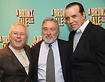 Alan Menken, Robert De Niro and Chazz Palminteri attend the Broadway Opening Night After Party for 'A Bronx Tale' at The Marriot Marquis Hotel on December 1, 2016 in New York City.