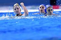 4 GER EGGERT Sophia Germany celebrates after scoring a goal <br />  <br /> Budapest 12/01/2020 Duna Arena <br /> GERMANY (white caps) Vs. ITALY (blue caps)<br /> XXXIV LEN European Water Polo Championships 2020<br /> Photo  © Andrea Staccioli / Deepbluemedia / Insidefoto