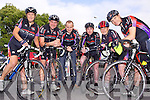 Members of the Chain gang cycling club Jennifer Crowley, Brendan O'Connor, Christo Murray, James White, Brenda Conway and Ken Feeley Pictured at the launch of the Chain gang cycling sportives which take place on Saturday 14th September.