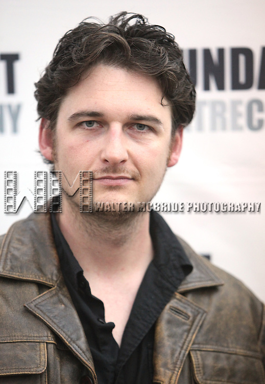 Toby Leonard Moore.attending the Meet & Greet for the Roundabout Underground's Production of 'Suicide, Incorporated' in New York City.