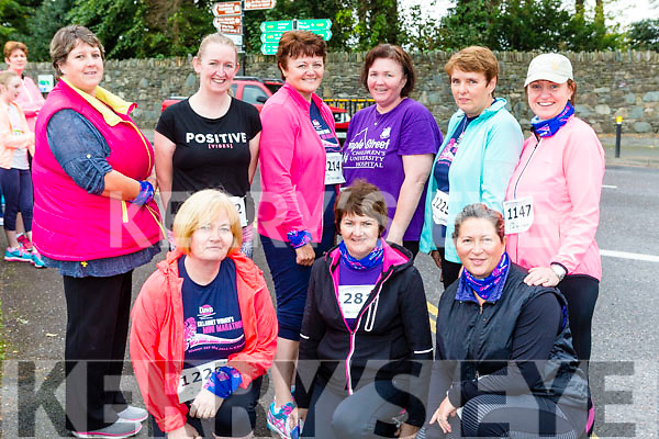 On the run at the Killarney Women's mini-marathon on Saturday front row l-r: Maria Naughton, Mary Breen, Sarah Kelleher. Back row: Geraldine O'Sullivan, Linda o'sullivan, Kate Moriarty, Marie O'Connor, Bernie Murphy and Mags Galvin Killorglin