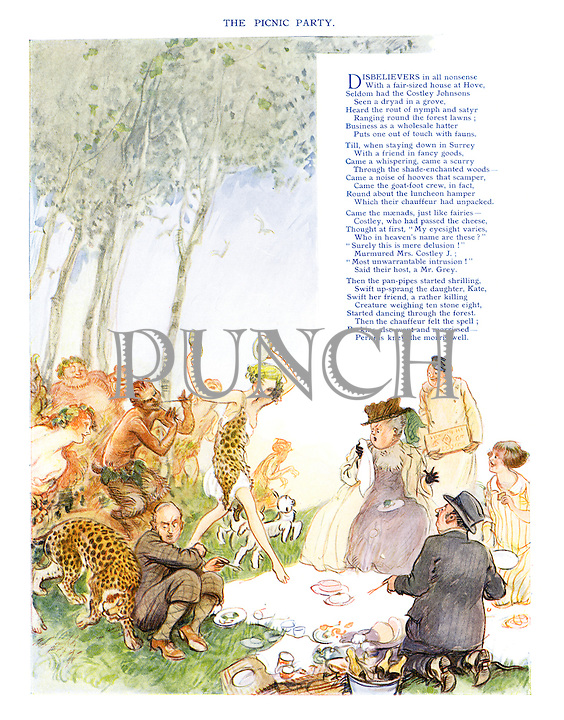 The Picnic Party (illustrated poem)