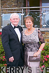 Pictured at the Rose Ball at the Dome on Friday night were  Sean and Teresa Connolly