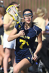 Santa Barbara, CA 02/18/12 - Emmy Scheidt (Michigan #7) in action during the Michigan-BYU overtime period at the 2012 Santa Barbara Shootout.  Michigan defeated BYU 11-10.