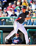 5 March 2010: Atlanta Braves' infielder Chipper Jones in action during a Spring Training game against the Washington Nationals at Champion Stadium in the ESPN Wide World of Sports Complex in Orlando, Florida. The Braves defeated the Nationals 11-8 in Grapefruit League action. Mandatory Credit: Ed Wolfstein Photo