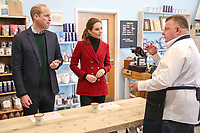 Kate and William Visit Halen Mon Anglesey Sea Salt