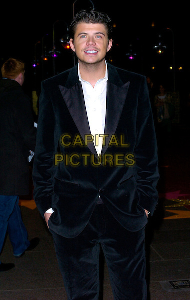 "ANDY NEWTON-LEE.Attending the UK Film Premiere of ""Dreamgirls"", .Odeon Leicester Square, London, England, .January 21st 2007..half length newton lee.CAP/CAN.©Can Nguyen/Capital Pictures"