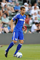 Aaron Hohlbein...Kansas City Wizards were defeated 3-0 by New York Red Bulls at Community America Ballpark, Kansas City, Kansas.