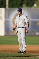 July 7, 2009: Tri-City Dust Devils first baseman Mike Zuanich during a Northwest League game against the Salem-Keizer Volcanoes at Volcanoes Stadium in Salem, Oregon.