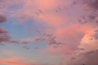 Sunset storm clouds, Pontotoc, Texas