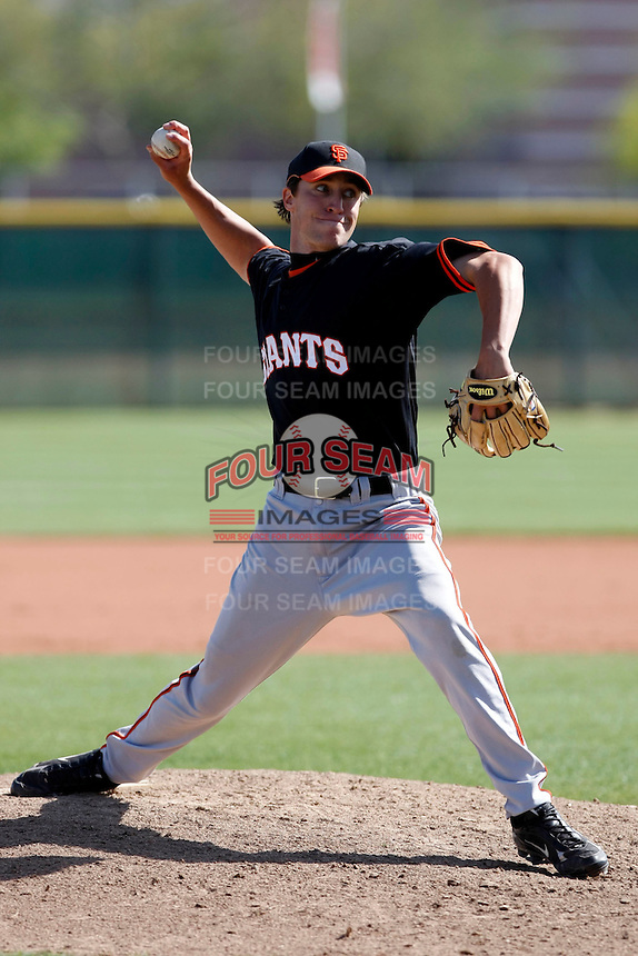 Chris Wilson - San Francisco Giants - 2009 spring training.Photo by:  Bill Mitchell/Four Seam Images
