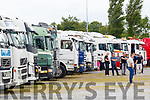 Over 50 trucks took part in the Truck Run last Saturday in aid of Cystic Fibrosis
