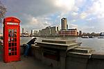Londyn - bulwary Tamizy