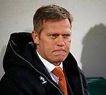 Nederland, Den Haag, 21 februari 2014<br /> Eredivisie<br /> Seizoen 2013-2014<br /> ADO Den Haag-Go Ahead Eagles <br /> Foeke Booy, trainer-coach van Go Ahead Eagles