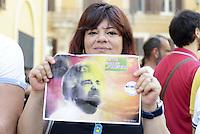 Roma, 18 Giugno 2013<br /> Piazza Montecitorio<br /> Manifestazione del Movimento 5 Stelle in appoggio a Beppe Grillo
