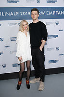 Yelena Tronina, Jannis Niewoehner<br /> ***NRW Reception during the 68th International Film Festival Berlinale, Berlin, Germany - 10 Feb 2019 *** Credit: Action PRess / MediaPunch<br /> *** USA ONLY***