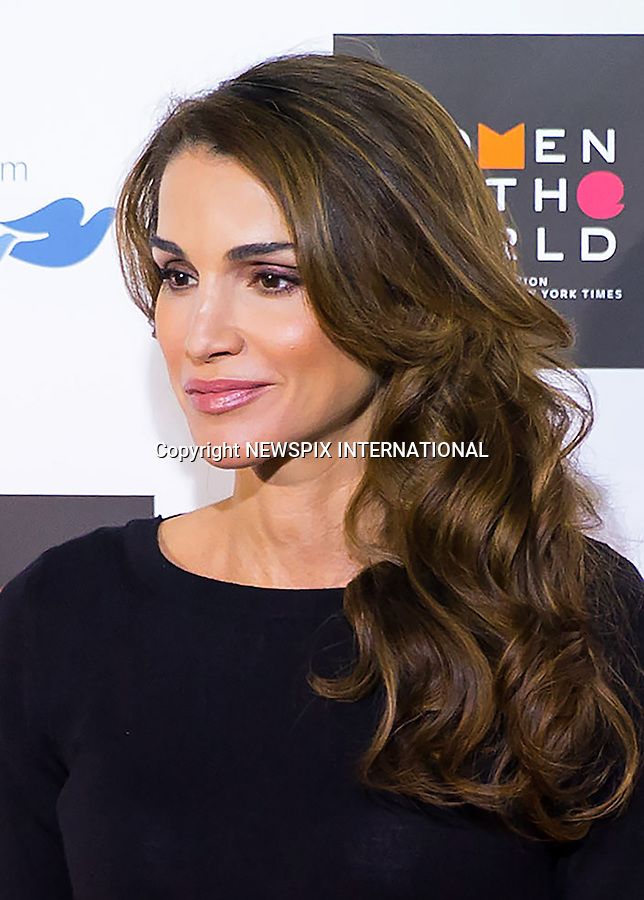 08.10.2015; London, UK: QUEEN RANIA AND PRINCESS BEATRICE<br />