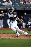 Jose Rondon - San Diego Padres 2016 spring training (Bill Mitchell)