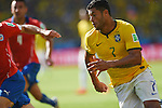 Hulk (BRA), JUNE 28, 2014 - Football / Soccer : FIFA World Cup Brazil 2014 round of 16 match between Brazil and Chile at Estadio Mineirao in Belo Horizonte, Brazil. (Photo by FAR EAST PRESS/AFLO)