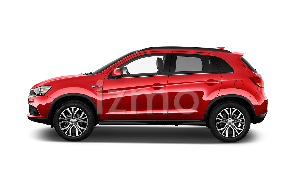 Car Driver side profile view of a 2017 Mitsubishi ASX Instyle 5 Door SUV Side View
