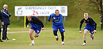 300410 Rangers training