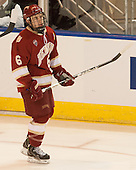 Matt Van Voorhis (DU - 6) - The Boston College Eagles defeated the University of Denver Pioneers 6-2 in their NCAA Northeast Regional semi-final on Saturday, March 29, 2014, at the DCU Center in Worcester, Massachusetts.