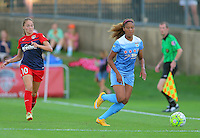 Boyds, MD - Saturday July 09, 2016: Estefania Banini, Casey Short during a regular season National Women's Soccer League (NWSL) match between the Washington Spirit and the Chicago Red Stars at Maureen Hendricks Field, Maryland SoccerPlex.