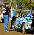 Feb 02, 2010; 4:55:47 PM; Gibsonton, FL., USA; The Lucas Oil Dirt Late Model Racing Series running The 34th Annual Dart WinterNationals at East Bay Raceway Park.  Mandatory Credit: (thesportswire.net)