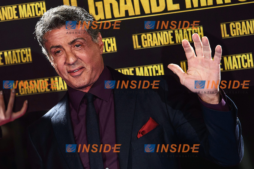 Sylvester Stallone <br /> Roma 07-01-2014 Cinema The Space Moderno <br /> Grudge Match - Il Grande Match Premiere<br /> Foto Andrea Staccioli / Insidefoto