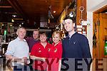 Celebrating 30 years in the Red Fox Pub Glenbeigh on Saturday Night<br /> L-R John Mulvihill, Johnny Shea, Rachel Hannon, Catriona O'Leary, Tim Mulvihill.