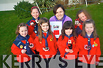 A plea has been made by Kilcummin Ladybirds for more adult volunteers to come forward and join this fund programme for children. .Front L-R Maedbh Doolan, Hazel Carey, Sarah O'Mahoney and Maeve O'Connor .Back L-R Martha Doolan, Leader Geraldine O'Halloran and Katie Doolan.