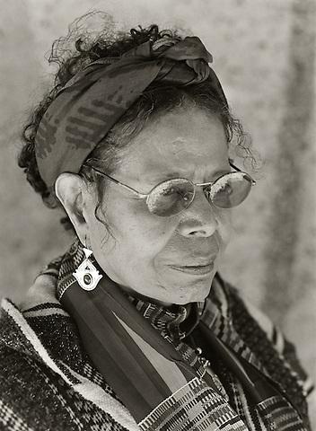 Jayne Cortez, 2009.  Poet.
