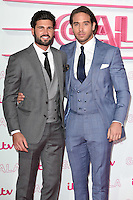 LONDON, UK. November 24, 2016: Dan Edgar &amp; James Locke at the 2016 ITV Gala at the London Palladium Theatre, London.<br /> Picture: Steve Vas/Featureflash/SilverHub 0208 004 5359/ 07711 972644 Editors@silverhubmedia.com