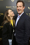 Sutton Foster and Ted Griffin attends the Broadway Opening Day performance of 'Harry Potter and the Cursed Child Parts One and Two' at The Lyric Theatre on April 22, 2018 in New York City.