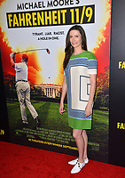 LOS ANGELES, CA. September 19, 2018: Elizabeth Tulloch at the Los Angeles premiere for Michael Moore's &quot;Fahrenheit 11/9&quot; at the Samuel Goldwyn Theatre.<br /> Picture: Paul Smith/Featureflash