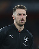 Arsenal's Aaron Ramsey<br /> <br /> Photographer Rob Newell/CameraSport<br /> <br /> Football - UEFA Europa League Round of 16 Leg 2 - Arsenal v Rennes - Thursday 14th March 2019 - The Emirates - London<br />  <br /> World Copyright © 2018 CameraSport. All rights reserved. 43 Linden Ave. Countesthorpe. Leicester. England. LE8 5PG - Tel: +44 (0) 116 277 4147 - admin@camerasport.com - www.camerasport.com
