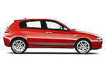 Passenger side profile view of a 2000 - 2010 Alfa Romeo 147 5 Door Ducati Corse Hatchback.