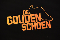 20190116 – PUURS ,  BELGIUM : illustration pictured during the  65nd men edition of the Golden Shoe award ceremony and 3nd Women's edition, Wednesday 16 January 2019, in Puurs at the Studio 100 Pop Up studio. The Golden Shoe (Gouden Schoen / Soulier d'Or) is an award for the best soccer player of the Belgian Jupiler Pro League championship during the year 2018. The female edition is the 3th one in Belgium.  PHOTO DIRK VUYLSTEKE | Sportpix.be