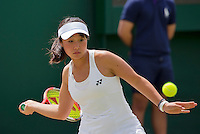 London, England, 3 July, 2016, Tennis, Wimbledon, Junior girls, Yuki Naito (JPN)<br /> Photo: Henk Koster/tennisimages.com