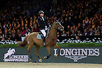 Marc Houtzager of Netherlands riding Baccarat in action during the Longines Speed Challenge competition as part of the Longines Hong Kong Masters on 13 February 2015, at the Asia World Expo, outskirts Hong Kong, China. Photo by Victor Fraile / Power Sport Images