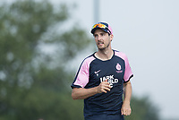 Steven Finn of Middlesex CC C during Middlesex CCC vs Hampshire CCC, Bob Willis Trophy Cricket at Radlett Cricket Club on 11th August 2020