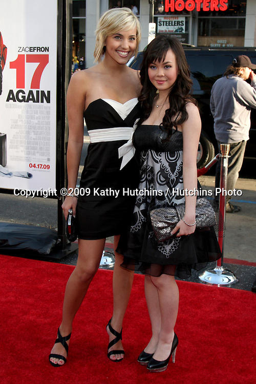 Kherington Payne & Anna Maria Perez de Tagle arriving at the 17 Again Premiere at Grauman's Chinese Theater in Los Angeles, CA on April 14, 2009.©2009 Kathy Hutchins / Hutchins Photo....                .