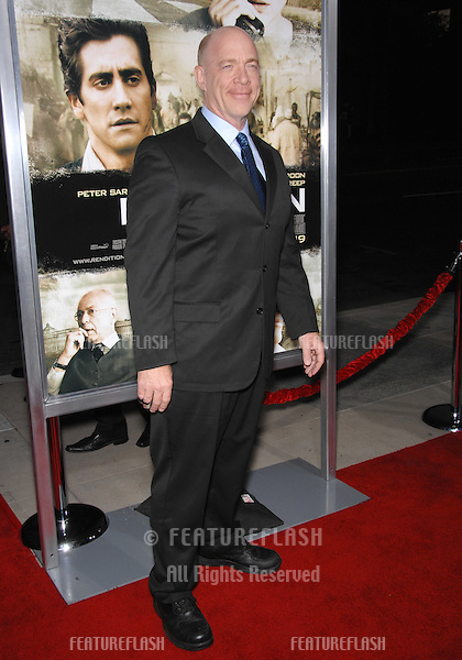 "JK Simmons at the Los Angeles premiere of his new movie ""Rendition"" at the Academy of Motion Picture Arts & Sciences Theatre, Beverly Hills..October 11, 2007  Los Angeles, CA.Picture: Paul Smith / Featureflash"