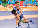 Shinobu Ota (JPN), AUGUST 14, 2016 - Wrestling : Men's Greco-Roman 59kg final match at Carioca Arena 2 during the Rio 2016 Olympic Games in Rio de Janeiro, Brazil. (Photo by Enrico Calderoni/AFLO SPORT)