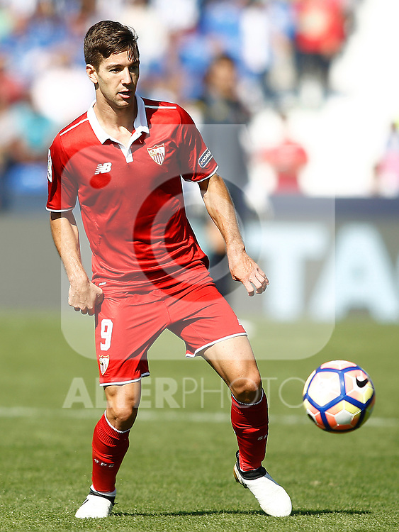 Sevilla FC's Luciano Vietto during La Liga match. October 15,2016. (ALTERPHOTOS/Acero)