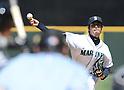 Hisashi Iwakuma (Mariners),<br /> JUNE 5, 2013 - MLB :<br /> Hisashi Iwakuma of the Seattle Mariners pitches during the baseball game against the Chicago White Sox at Safeco Field in Seattle, Washington, United States. (Photo by AFLO)