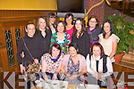 Abbeyfeale ladies enjoying Little Christmas in Leen's Hotel, last Thursday night was f l-r: Catherine Clifton, Ann Quade, Suzanne Kelly. B l-r: Margaret Kelly, Delia O'Sullivan, Trina Callaghan, Michelle Kelly, Helena Collins, Ida Lacey, Lilly Vaughan and Karen Stack..